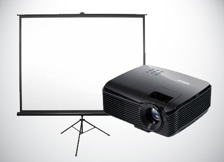 Projector-Rental-With-Screen-Infocus